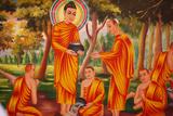 Life of the Buddha, Spreading the Dharma Photographic Print
