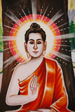 Life of the Buddha, Teaching the Four Noble Truths Photographic Print