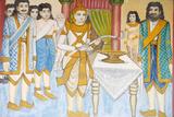 Life of the Buddha, Prince Siddhartha Gautama Became a Champion of Swordplay, Wrestling and Archery Photographic Print