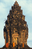 Monks in Angkor Photographic Print
