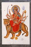 Sherawali, or Jagadamba Photographic Print