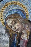 Milano Monumental Cemetery, Virgin Mary Photographic Print