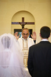 Catholic Wedding Photographic Print
