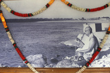 Garlanded Picture of the Master in Swami Sivananda's Ashram Photographic Print