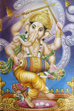 Dancing Ganesh Picture Photographic Print