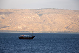 Boat on the Sea of Galilee Photographic Print