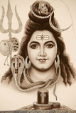 Hindu God Shiva Photographic Print