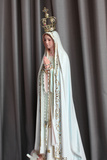 Statue of Our Lady of Fatima Photographic Print