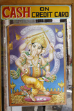 Ganesh Picture and Sign Photographic Print