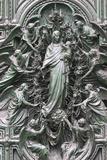Duomo of Milano, Virgin and Child Photographic Print