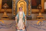 Virgin Sculpture Photographic Print