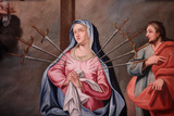 Our Lady of Assumption Church, Mary's Seven Sorrows Photographic Print