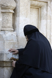 Nun in Mary Magdalene Russian Orthodox Church on Mount of Olives Photographic Print
