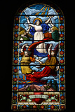 Stained Glass Depicting Mary's Assumption Photographic Print