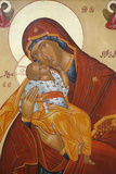 Melkite Icon, Virgin and Child Photographic Print