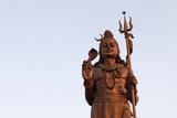 Shiva Statue in Mangal Manjusha Near Delhi Photographic Print