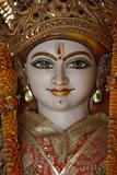 Lakshman Temple in Rishikesh, Detail of a Vishnu Statue Photographic Print
