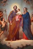 Painting in Santuario di Maria Ausiliatrice Photographic Print