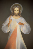 Jesus of Mercy Photographic Print