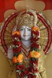 Lakshman Temple in Rishikesh, Vishnu Photographic Print