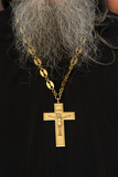 Orthodox Priest's Cross Photographic Print