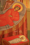 Greek Orthodox Icon Depicting Mary's Birth Photographic Print