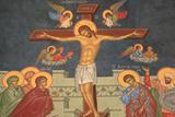 Jesus's Crucifixion, Saint-Antoine-le-Grand Orothodox Church Photographic Print