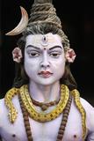 Detail of Shiva Statue Photographic Print