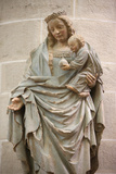 Virgin and Child Statue in Notre-Dame of Dat'le Collegiate Church Photographic Print