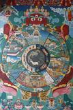 Wheel of Life or Wheel of Samsara, Kopan Monastery Photographie