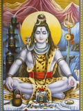 Sitting Shiva Picture Photographic Print