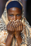 Muslim Woman Praying Photographic Print