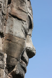 Stone Faces on Towers, Bayon Temple, Angkor Thom May Depict Jayavarman Vii as Bodhisattva Photographic Print