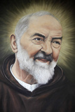 Portrait of Padre Pio in Apulia Photographic Print
