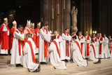 Priest Ordinations at Notre Dame Cathedral Photographic Print