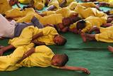 Boys Living in Srila Prabhupada Orphanange Run by Iskcon (Hare Krishna Movement) Photographic Print