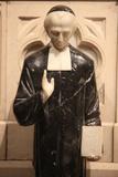 Saint Patrick's Cathedral, Priest Photographic Print