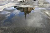 Mont Saint Michel Reflection Photographic Print