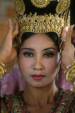 Woman Performing Traditional Cambodian Dance Photographic Print