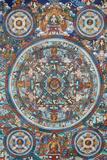 Mandala on a Tibetan Thangka - Fotografik Baskı