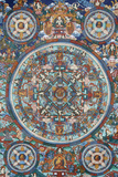 Mandala on a Tibetan Thangka Photographic Print