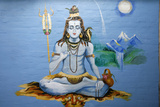 Hindu God Shiva Lámina fotográfica