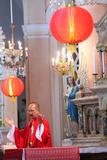 Lunar New Year Mass, Tan Dinh Church Photographic Print