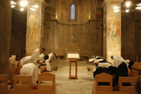 Vespers at Abu Gosh Benedictine Monastery Photographic Print