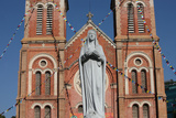 The Saigon Notre-Dame Basilica Is a Neo-Romanesque Catholic Church Built by the French in 1863 Photographic Print