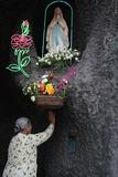 Lourdes Shrine in Vietnam Photographic Print