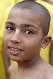 Boy Living in Srila Prabhupada Orphanange Run by Iskcon (Hare Krishna Movement) Photographic Print