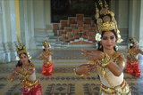 Women Performing Traditional Cambodian Dance Photographic Print