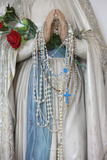 Detail of Virgin Mary Sculpture in Sacred Heart Catholic Syriac Church Photographic Print