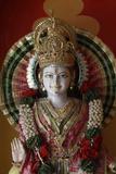 Lakshman Temple in Rishikesh, Krishna Statue Photographic Print